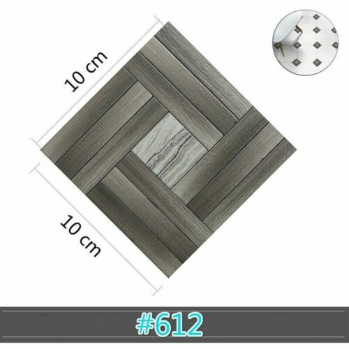 Waterproof Tile Stickers Self Adhesive Diagonal Floor Sticker Country Wall Decor