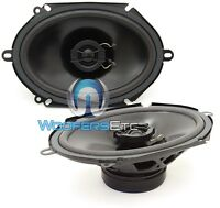 Powerbass S-682 Car 6 X 8 120w Rms 2-way Mylar Tweeters Coaxial Speakers on Sale
