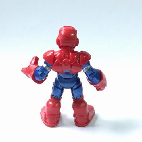 "2.5/"" Playskool Marvel Super Hero Adventures Iron SPIDER MAN Loki Vision ULTRON"