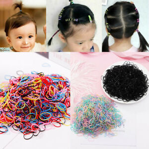 1000pcs Baby Holders TPU Elastics Rubber for Child Tie Gum Hair Bands