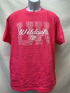 Neuf-Kentucky-Wildcats-Hommes-Taille-L-Grand-Rose-J-America-Chemise