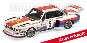 Minichamps 180772005- BMW 3,5 CSL Sepp Manhalter Havirov 1977 1 18