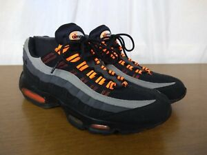 Details about Nike Air Max 95 Halloween Mens Size 10 Black Orange Grey 609048 054 Sneakers
