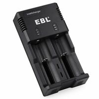 Ebl Universal Charger For Li-ion 18650 26650 10440 Ni-mh Nicd Aa Aaa Battery 992