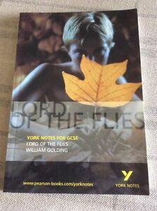 Very Good Paperback York Notes on 034Lord of the Flies034 Intermediate - Edinburgh, United Kingdom - Very Good Paperback York Notes on 034Lord of the Flies034 Intermediate - Edinburgh, United Kingdom