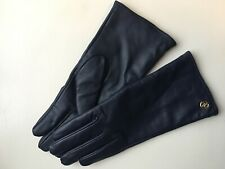 NEW Adrienne Vittadini Women/'s Leather Gloves with Touch Screen Technology Large