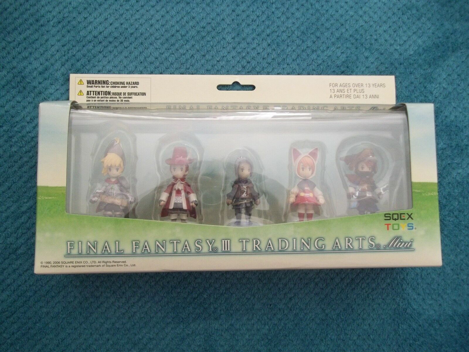 Figurines Final Fantasy 3 trading arts