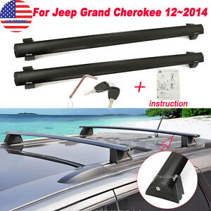 for 2011 2014 jeep grand cherokee removable roof rack. Black Bedroom Furniture Sets. Home Design Ideas