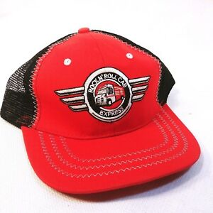 63f0e120f9154 Snap-On Black Red Rockin Roll Cab Express Logo Baseball Cap