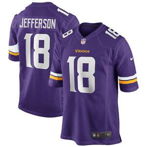 New 2020 NFL Justin Jefferson Minnesota Vikings Nike Game ...