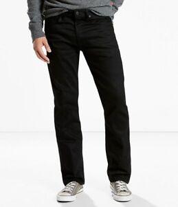 Poli Levis Jeans 501 Original Grand Noir Droite Grand Fit 886602333803 Mouche Bouton 44x32 ffROq01