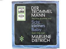 Marlene Dietrich der Trommelmann the little drummer boy 7` Single
