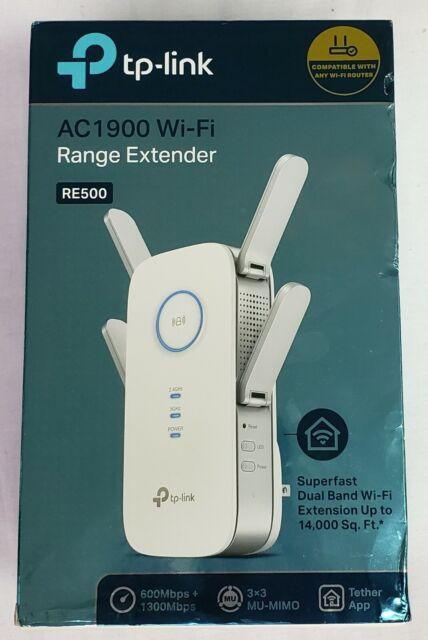 TP-Link RE500 AC1900 Dual Band Wi-Fi Range Extender w// Gigabit Ethernet Port