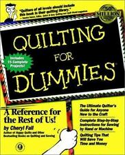 Quilting for Dummies by Fall, Cheryl