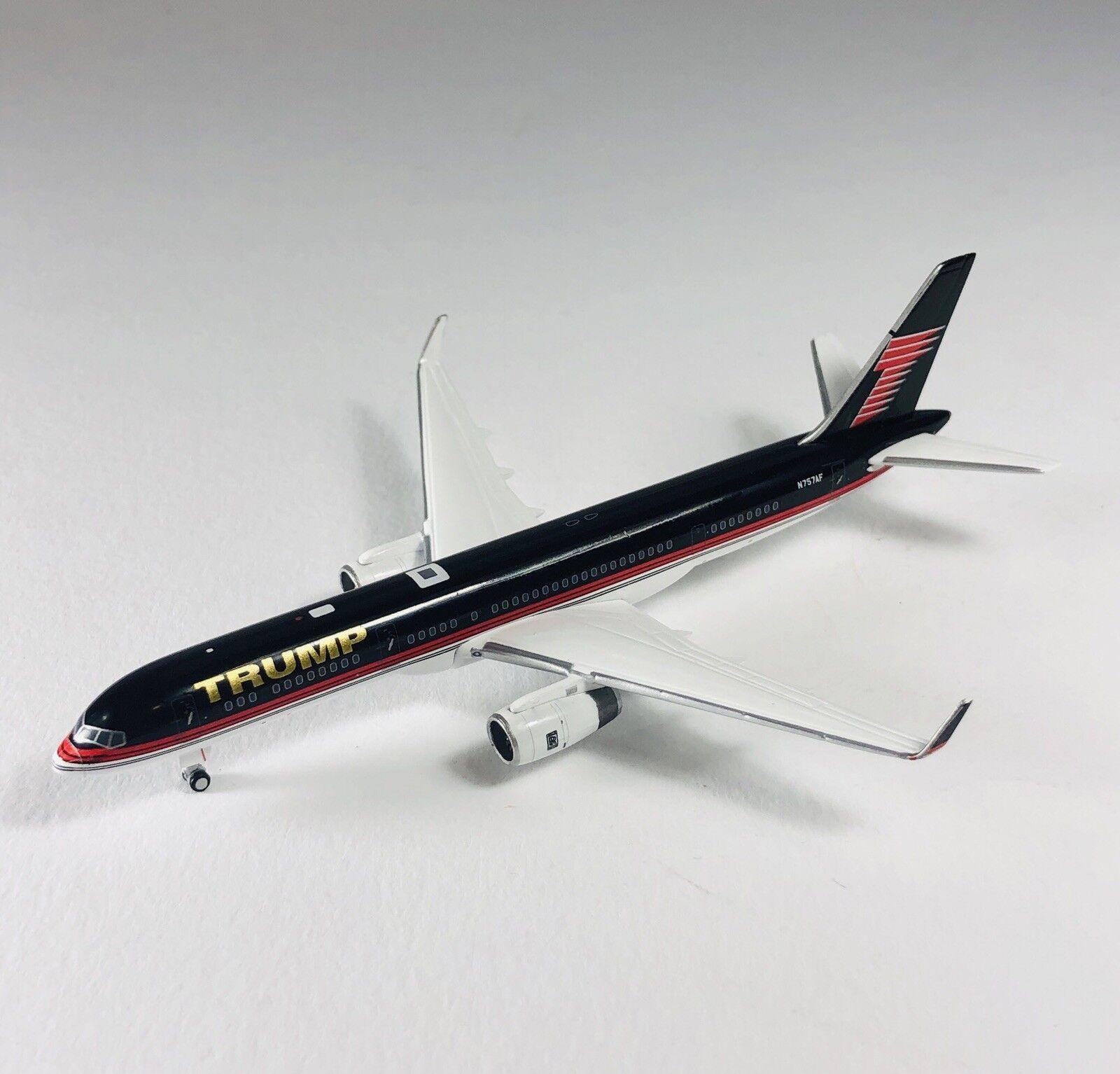 envío rápido en todo el mundo Gemini 1 400 Boeing 757-200 Trump Trump Trump Diecast Metal Avión réplica  mejor calidad