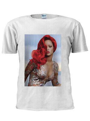 Radient Sexy Music Rihanna T-shirt Vest Tank Top Men Women Unisex Tshirt Uk Seller M168 Auf Der Ganzen Welt Verteilt Werden