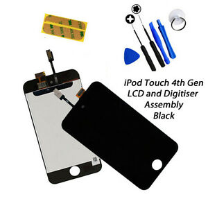 NEW-LCD-amp-Digitiser-Touch-Screen-Replacement-FOR-iPod-Touch-4G-4th-Gen-BLACK