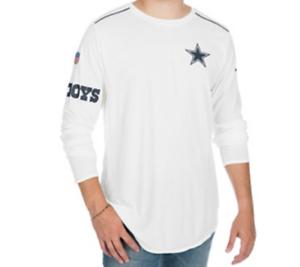 NFL Dallas Cowboys Womens Nike Long Sleeve Breathe Top Medium Navy