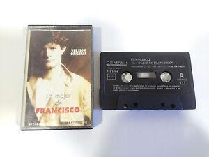 FRANCISCO-LO-MEJOR-DE-CINTA-TAPE-CASSETTE-K7-SMASH-1992