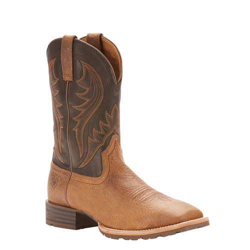 10f64321dae Ariat® Men's Hybrid Rancher Earth Tack Room Square Toe Boots 10025141