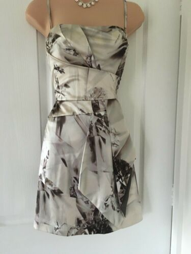 Millen Karen Seta 12 senza Size Ivory Diamond Dress spalline AdTrd4nz