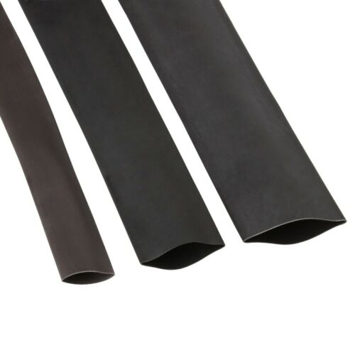 1 Meter Shrink Tubing with Interior Adhesive schrumpfrate 3:1 Various Sizes Glue