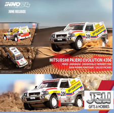 Inno64 Mitsubishi Pajero Evolution Paris Granada Dakar Rally 1998 Winner 164