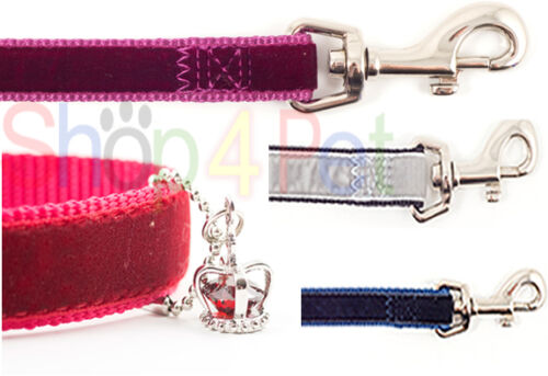 POOCHES /& PUPS ANCOL CROWN JEWEL DOG LEAD for SMALL DOGS 120cm