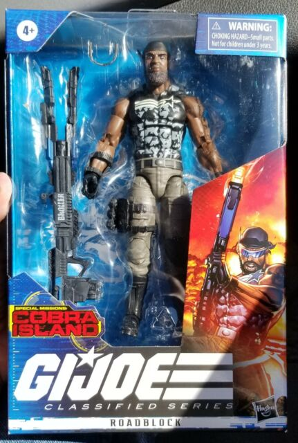 GI JOE Classified Cobra Island Roadblock  TARGET EXCLUSIVE- IN HAND