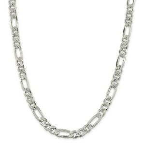 18 Length 925 Sterling Silver 4.25mm Wide Rolo Chain Necklace