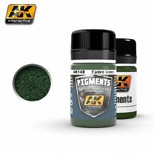 AK Interactive 35ml Pigmente Verblasstes Grün # AK148