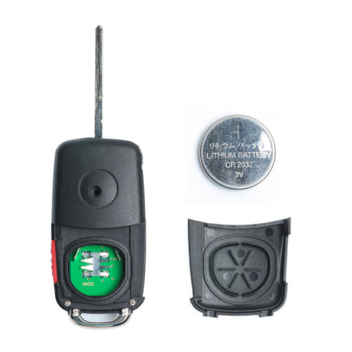Flip Remote Car Key 3B for VW Volkswagen Touareg 2002-2010 433MHz ID46 Aftermark