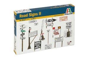 ITALERI-6527-1-35-II-Road-Signs-II
