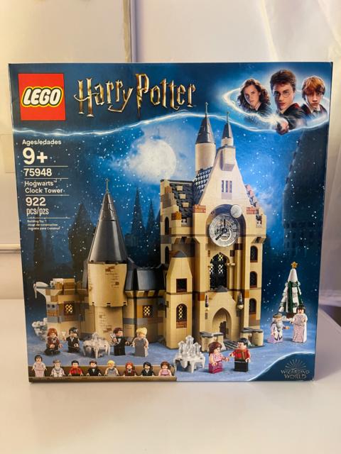 Lego Hogwarts Clock Tower 75948. In hand. Will ship ASAP!