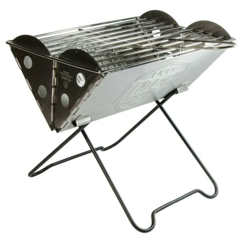 UCO GEAR MINI FLAT PACK GRILL stainless steel folding camping fire pit //cooker