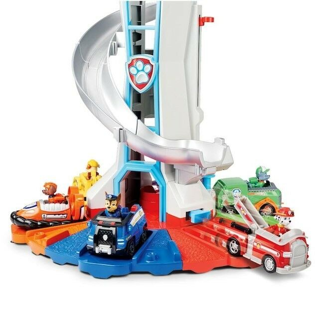 Paw Patrol My Größe Lookout Tower Set Lighthouse Slide Kids Toy