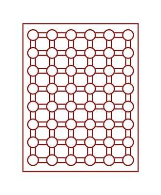 Ambitieus Lindner 2524 Coin Box-gray / Red Insert Te Koop
