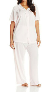 Shadowline Women's Petals Short Sleeve Pajama - 76280