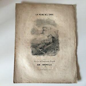 Spartito-La-Regina-Di-L-Onda-Ferdinand-Huard-Charles-Dancla-Francia-Musicale-C