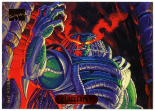 Tyrant #127 Marvel Masterpieces 1994 Trade Card C288