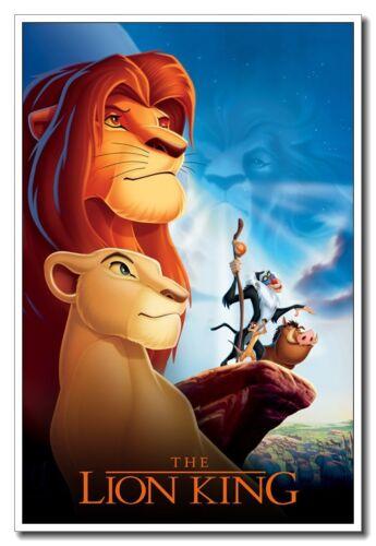 "The Lion King Simba 24/""x36/"" Silk Poster Cool Kids Gift For Home Shop Art Print"
