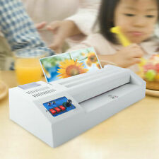 Hot Cold Thermal Laminator Machine Fast Warming Up 13 Laminating For Office Use