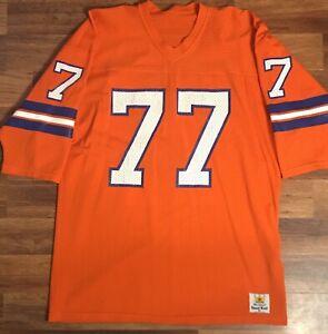 Details about Sand Knit Denver Broncos Karl Mecklenburg Jersey (Size XL)