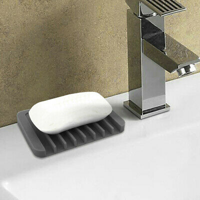 Stainless Steel Bathroom Soap Dish Tray Box Stand Soap Holder Fresh Organizer
