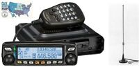 Yaesu Ftm-100dr Vhf/uhf 50w Mobile Transceiver With Comet Mag-mount Antenna