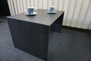 Table basse en acier, table basse de 35 cm, table basse de 36 cm, table basse de