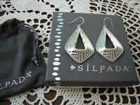 Silpada Sterling Silver taos Earrings W3153
