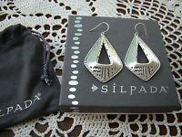 Silpada Sterling Silver taos Earrings W3153