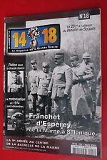 Magazine 14-18 n°18  ( Edit-Février-2004)