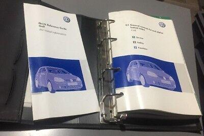 # Vw Touran Proprietari Manuale Manuale Cartella Libro Pack Set Tdi Volkswagen 2003-2006-